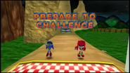 Sonic R Metal Sonic Challenge