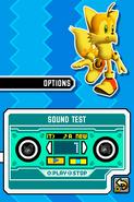 Sonic Rush Sound Test
