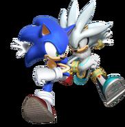 Sonic i Silver Rivals