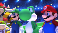 Mario Sonic Olympic Winter Games Festival Mode Opening 5