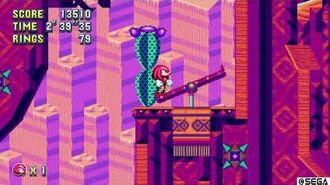 SM - Mirage Saloon Zone Act 1 (Knuckles) Special Stage Rings