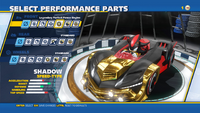 Shadow Legendary Perfect Power Engine Front