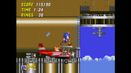 Sonic 2 - Sky Chase Zone 4