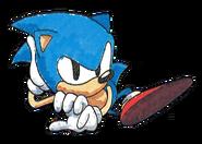 Sonic 91 art 18