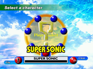 Sonic Adventure Character Select DC 7