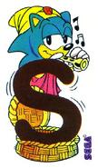 Sonic Alphabet Letter S