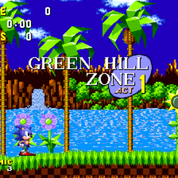 Green Hill Zone Sonic The Hedgehog Sonic News Network Fandom