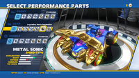 Metal Sonic Legendary Haste Augmenter Rear