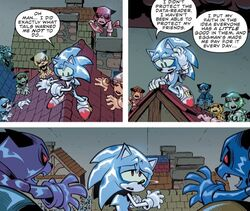 Sonic Metal Virus IDW23