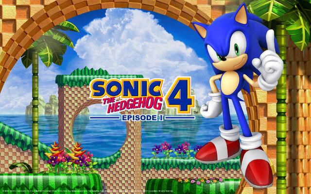 File:Sonic The Hedgehog 4 - Episode 1- Wallpaper - (1).jpg