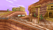 Frontier Canyon Background 2