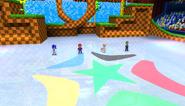 Mario Sonic Olympic Winter Games Gameplay 343