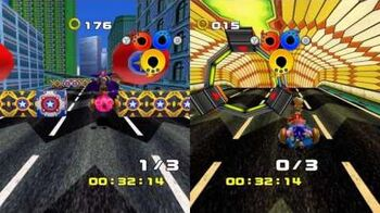 Sonic Heroes - Urban Course
