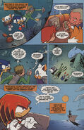 Sonic X issue 2 page 5