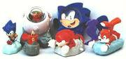 Burger King Sonic 1998 toys