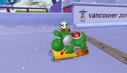 Mario Sonic Olympic Winter Games Gameplay 085