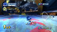 Mario Sonic Olympic Winter Games Gameplay 273
