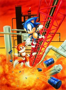 Sonic2 - ArtworkOilOcenZone