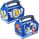 Sonic Empty Favor Boxes
