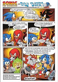 Sonic Universe Issue 2 Off Panel