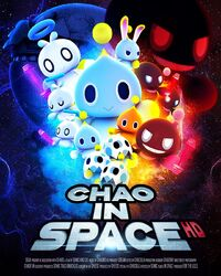 Chao In Space HD &Knuckles