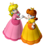 Peach and Daisy 2