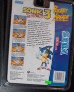 Pocket Arcade Sonic 3 back
