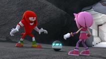 S1E03 Knuckles Amy Photon Bomb