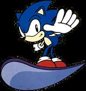 Snowboard Sonic 1998