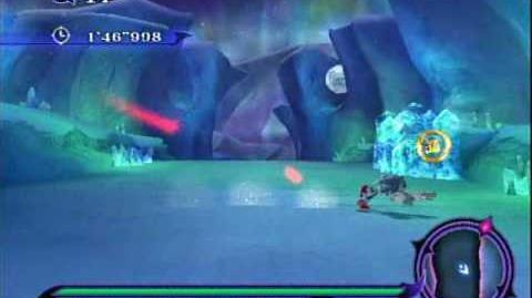 Sonic Unleashed (Wii) - Holoska Night Stage 1 The Aurora Snowfields