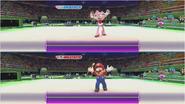 Mario & Sonic at the Rio 2016 Olympic Games - Amy VS Mario Gymnastics
