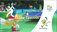 Mario & Sonic at the Rio 2016 Olympic Games Table Tennis Loading Screen