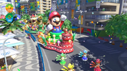 Mario Sonic Rio Wii U Beach 31