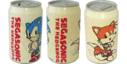SegaSonic puzzle can Sonic and Tails 360