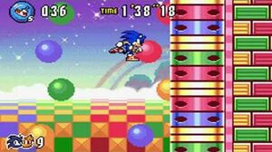Sonic Advance 3 - Zone 4 Toy Kingdom - Act 1 2 3 & VS Boss