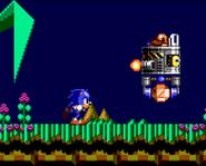 Sonic Chaos intro GG