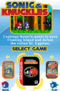 Sonic Classic Collection Menu 5