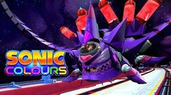 Sonic Colors - Nega Wisp Armor (Final Boss) Full HD 1080p 60 FPS