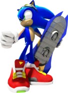 Sonic SRiders art 3