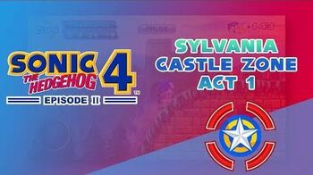 Sylvania Castle Zone Act 1 - Sonic 4 Episode II (Mobile)