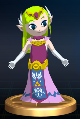 File:Zelda (Wind Waker) - Brawl Trophy.png