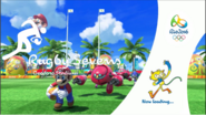 Mario & Sonic at the Rio 2016 Olympic Games Rugby Sevens Loading Screen