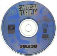 SegaSmashPack PC Disc