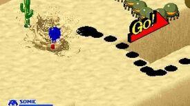 SegaSonic the Hedgehog - Desert Dodge