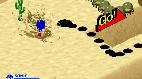SegaSonic the Hedgehog - Desert Dodge