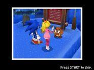 Sonic, Peach & Goomba