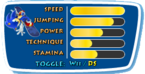 Winter Olympics DS Stats Sonic