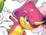 Espio the Chameleon (Sonic the Comic)