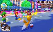 Mario Sonic London 3DS Gameplay 044
