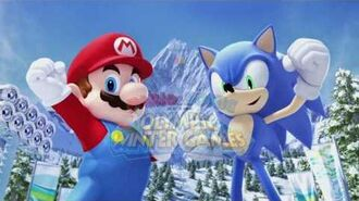 Mario and Sonic at the Olympic Winter Games GC Trailer